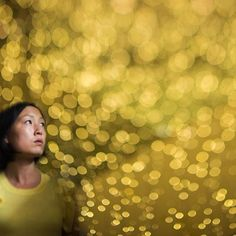 When you combine two freelensed images, bokeh lights and self-portrait together. Bokeh Lights, Diana, Self, Portrait, Artwork, Photography, Work Of Art, Photograph, Headshot Photography