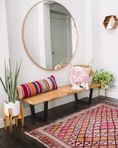 667d30ba59c Little  entryway refresh! I found a similar 48 mirror for only  216 for you