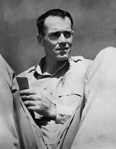 Lieutenant Henry Fonda, former Hollywood movie star, relaxes in a South Pacific area, July 10, 1944 where he is now on active duty on the staff of Vice Adm. J.H. Hoover, U.S. Navy commander of the forward area, Central Pacific. Fonda joined the navy as an ordinary seaman.