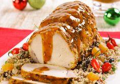Receita de Natal: Lombo com molho e farofa especial