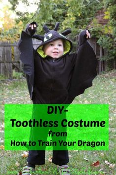 """toothless costume - how to train your dragon"""