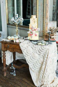 elegant birthday party