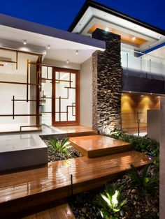 Home Decor Contemporary Exterior.