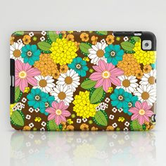 Spring Floral iPad Case by Joanne Paynter - $60.00