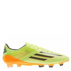 de9362fea adidas F50 adizero TRX Running Glow Earth Green Solar Zest Firm Ground  Soccer Cleats - model D67119 - Only  197.99