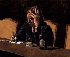 Fábian Pérez - Self Portrait