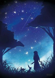 Painting Galaxy Digital 51 Ideas For 2019 Scenery Wallpaper, Galaxy Wallpaper, Fantasy Landscape, Fantasy Art, Anime Galaxy, Anime Scenery, Pretty Art, Anime Art Girl, Night Skies