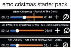 Except panic also covered this is Halloween from the nightmare before Christmas and I'd probably listen to that