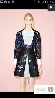 Peter Pilotto Pre - disappointed in this pre collection from one of my faves!