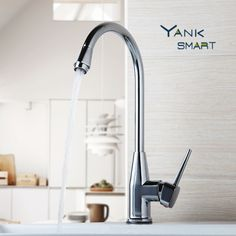 RU & China 360 Degree Swivel Kitchen Faucet Deck Mounted Hot & Cold Water Mixer Chrome Brass Kitchen Basin Sink Faucet