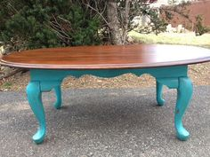 Shabby Chic Coffee Table by SoulfullyChic on Etsy, $125.00 I have the table, can just paint the bottom