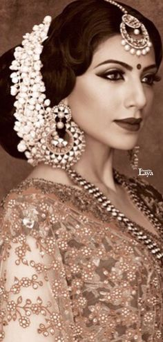 Indian Bridal Hairstyle. | weddingz.in | India's Largest Wedding Company |
