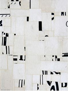 Suprematism - Non-Objective Art - Cecil Touchon -Suprematist Non-Objective Poetry, 12 x 9 in., collage on paper, USA Modern Art, Contemporary Art, Art Du Collage, Creation Art, Arte Popular, Grafik Design, Textures Patterns, Painting & Drawing, Design Art
