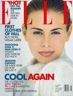 Elle US, August 1994 Photographer: Gilles Bensimon Model: Niki Taylor