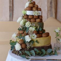 Image result for cheese and pork pie wedding cakes