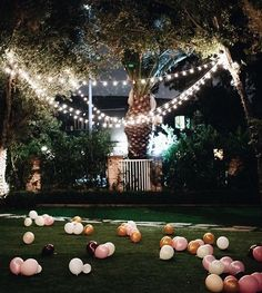 "Lombardi House on Instagram: ""What could be better then twinkle lights and colorful balloons #sj1986 @sincerelyjules"""