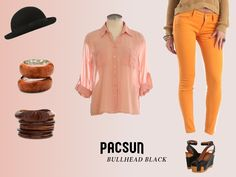 Bohemian Beauty Lookbook Page, rendered after concept art. #pacsun #bullheadblack