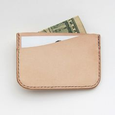 Friday and River 3 pocket slim wallet - $85.00 - Made in USA
