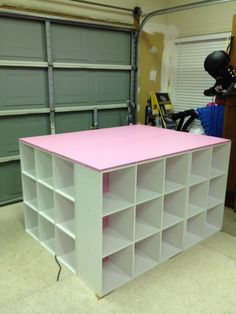 Measure Once, Cut Twice: DIY: Crafting Desk