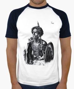 Camiseta Africano A Camiseta hombre, estilo béisbol  18,90 € - ¡Envío gratis a partir de 3 artículos!