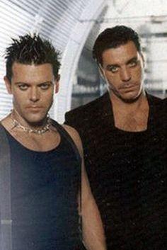 Till Lindemann (ri.) ☻ Richard Kruspe (Rammstein)