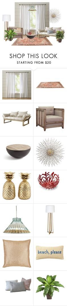 """""""HOME #1"""" by onemorepose ❤ liked on Polyvore featuring interior, interiors, interior design, home, home decor, interior decorating, Wallace, Fresh Futon, I Love Living and GO Home Ltd."""