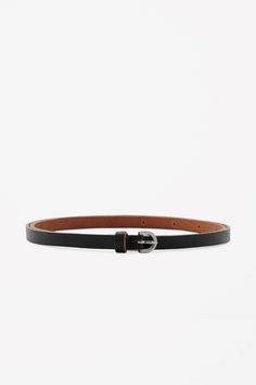 COS | Slim leather belt