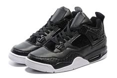 89f0f2b6b562 Pinnacle Air Jordan 4 Retro PRM Black Pony Hair to buy Jordan 4