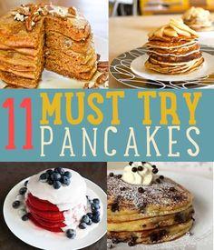 How To Make Pancakes | Easy Pancake Recipe, see recipes at http://diyready.com/how-to-make-pancakes-breakfast-recipes/