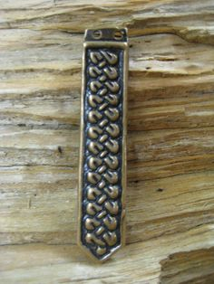 belt  or strap end by torfin on Etsy, $20.00