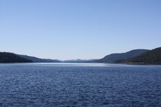 North of the Narrows. Priest Lake, ID