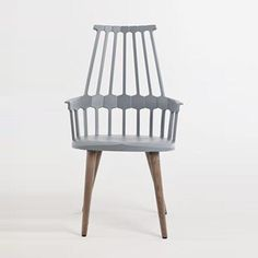 Comback Chair, Wood Legs & Kartell Comback Chairs | YLiving $850 each