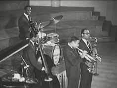 Art Blakey & The Jazz Messengers - Moanin':  great video of the style coming to be in the time period