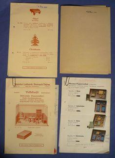 Theodor Luthardt Puppenmöbel Puppenstube Katalog 1937 1953 Blechtrommel F169   eBay