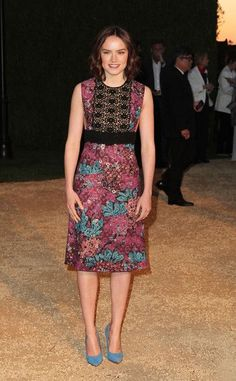Burberry 'London In Los Angeles' Event - Arrivals - Daisy Ridley (Star Wars)