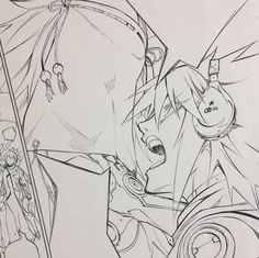 Sousei no onmyouji chapter 47 croquis raw Anatomy Sketches, Anime Drawings Sketches, Anime Sketch, Anime Art Girl, Manga Art, Anime Manga, Character Concept, Character Design, Twin Star Exorcist