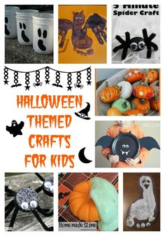 15 Halloween Themed Crafts for Kids - In The Kitchen With KP