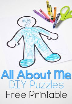 All About Me DIY Puzzles
