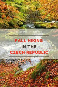 Easy Day Hikes Near Prague: Join us on a easy walk through the Bohemian and Saxon Switzerland National Parks, and experience the glorious colors of Fall in the Czech Republic. Click here for more tour details!