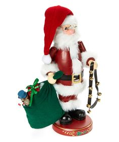 This Heirloom Collectible Nutcracker Santa Claus Figurine by Zim's by The Whitehurst Company is perfect! #zulilyfinds