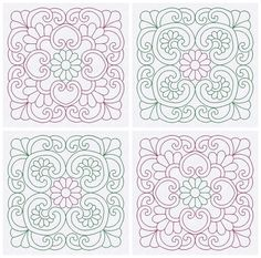 Quilt Blocks Embroidery Designs Quilting by EmbroideryByLada