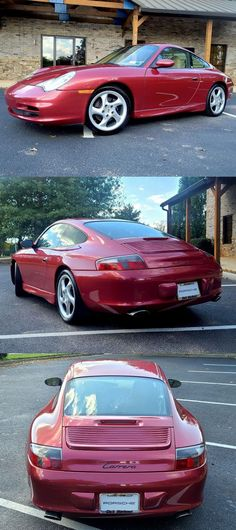 2002 Porsche 911 Carrera [Rare Orient Red Metallic Color] 2002 Porsche 911, Leather Cleaning, Oil Filter, Metallic Colors, Manual Transmission, Sport Cars, Carrera, Red, Power Cars