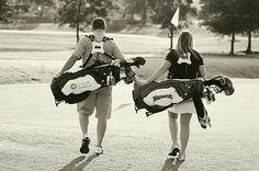 Golf Couple<3 This is going to be me