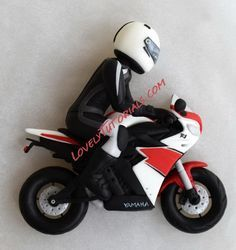 how to make fondant gumpaste motorcycle
