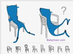 Babymaxi.com: Totseat - The foldable travel high chair in action - YouTube