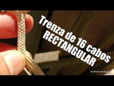 "Trenza de 16  ""Rectangular""  ""El Rincón del Soguero"" - YouTube"