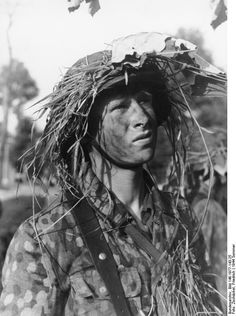 Grenadier of German 12th SS Panzer Division 'Hitlerjugend', France, 21 Jun 1944