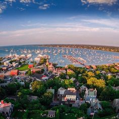 How gorgeous is this aerial view of Nantucket? What A Wonderful World, Beautiful World, Beautiful Places, Oh The Places You'll Go, Places To Travel, Places To Visit, Grunge Outfits, Marthas Vinyard, Les Hamptons