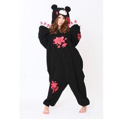 SAZAC Gloomy Bear Black Kigurumi