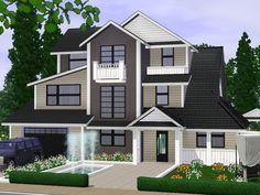 Modern Villa by gabi89 - Sims 3 Downloads CC Caboodle